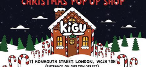 KIGU pop up shop